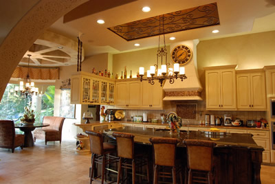kitchen ceiling treatments